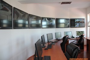 Kent Mobese izleme sistem odasi