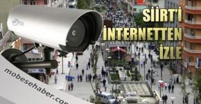 Siirt mobese kamerası canlı yayın izle